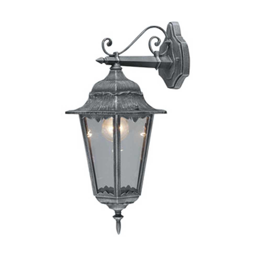 Lanterna Irlanda colore grigio ghisa potenza 60 W altezza 43 cm