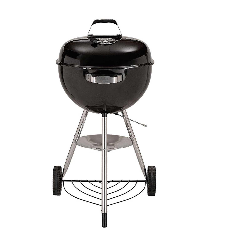 Barbecue modello SFERA con struttura in acciaio e vassoio raccoglicenere