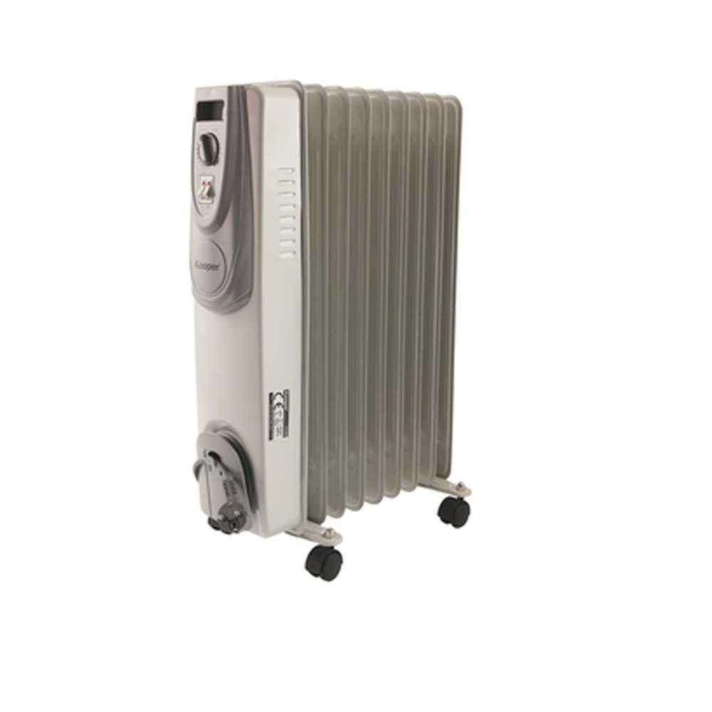 Radiatore a olio modello Santorini potenza 1000/2000 W