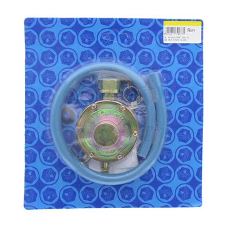 Kit per stufe con tubo e regolatore di gas adatto per tutte le stufe a gas