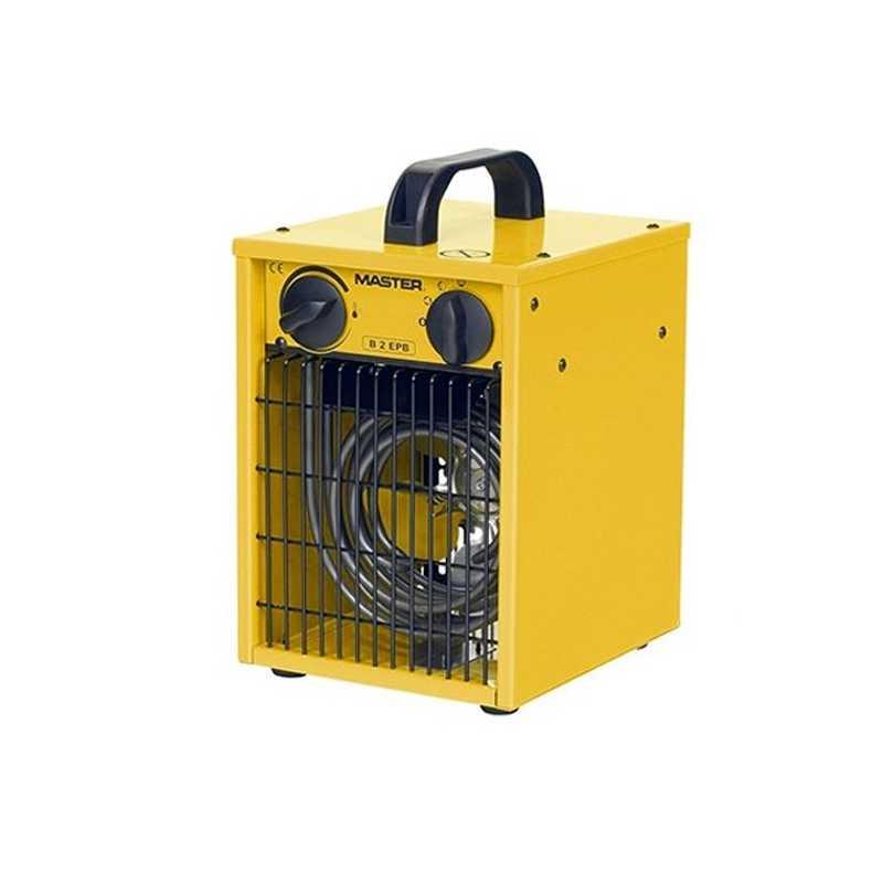 Generatore di aria calda elettrico con ventilatore Master B2EPB tensione 230 V