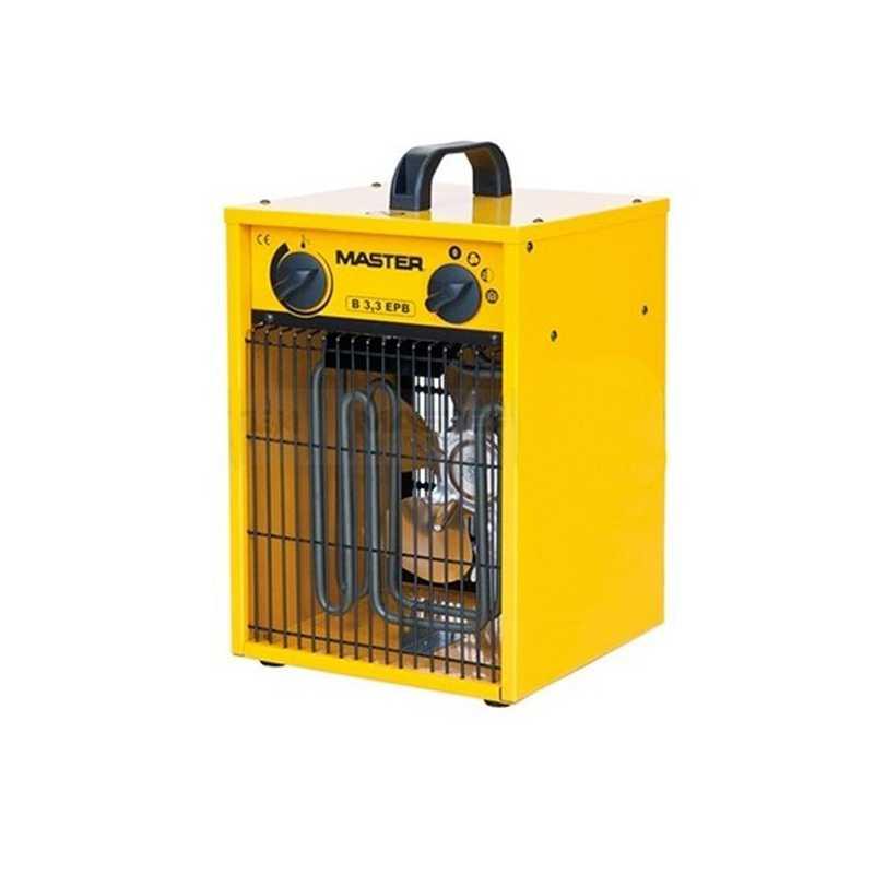 Generatore di aria calda elettrico con ventilatore Master B3,3 EPB peso 5,1 kg