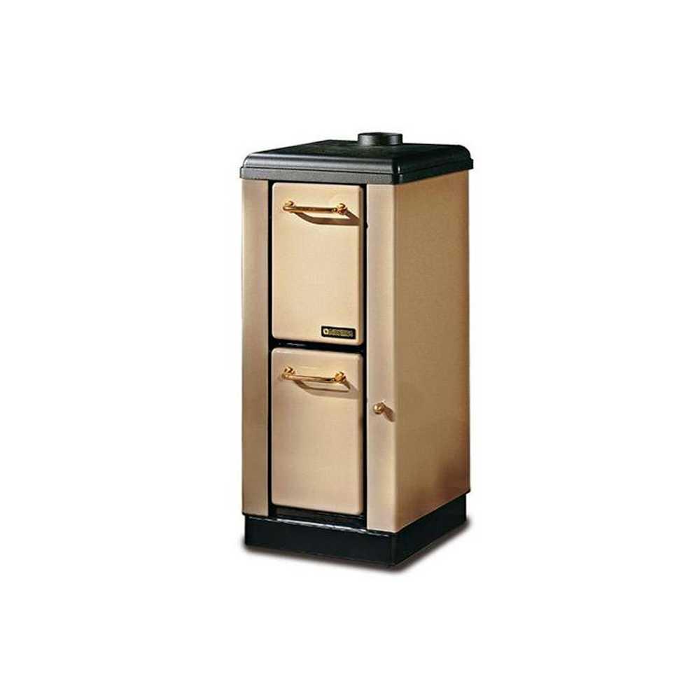 Stufa a legna cappuccino Nordica Mignon potenza termica 4,0 kW