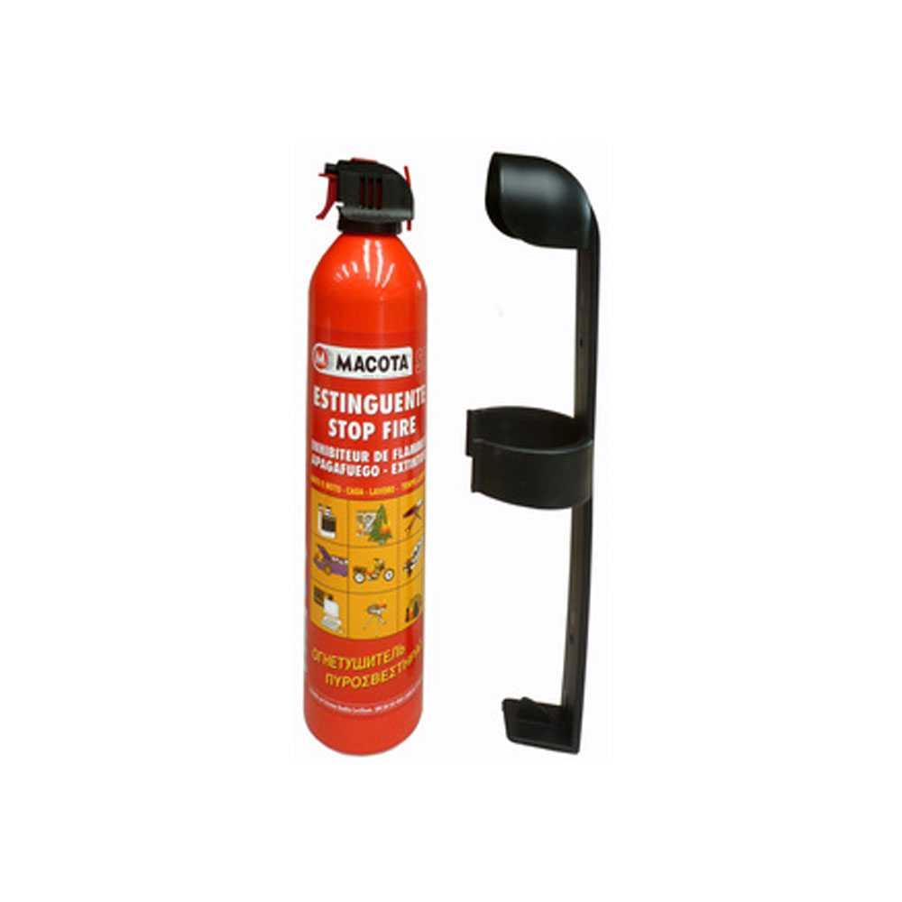 Estintore portatile bombola da 700 ml adatto per principi d'incendi