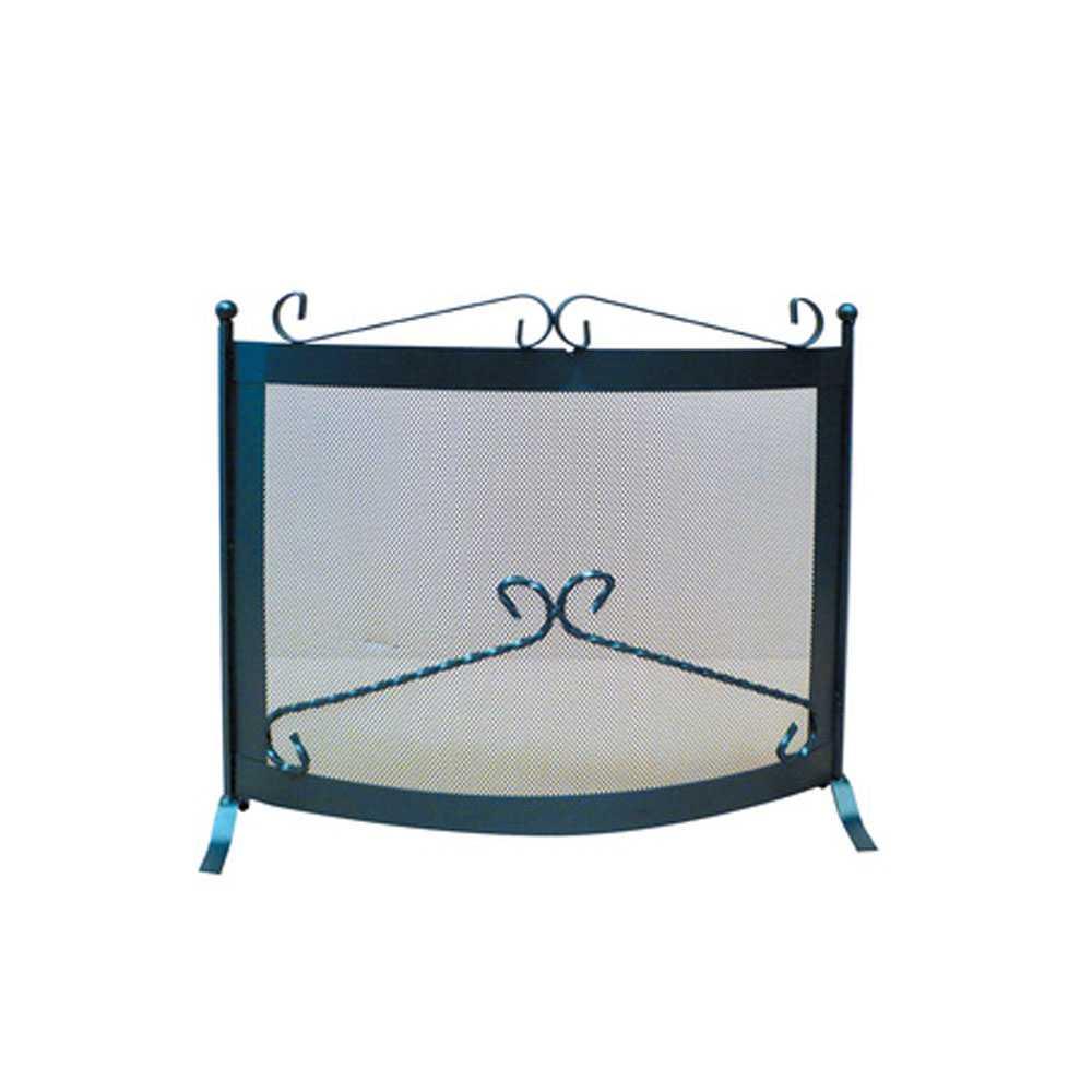 Parascintille Deco in ferro battuto dimensioni cm 60x52h
