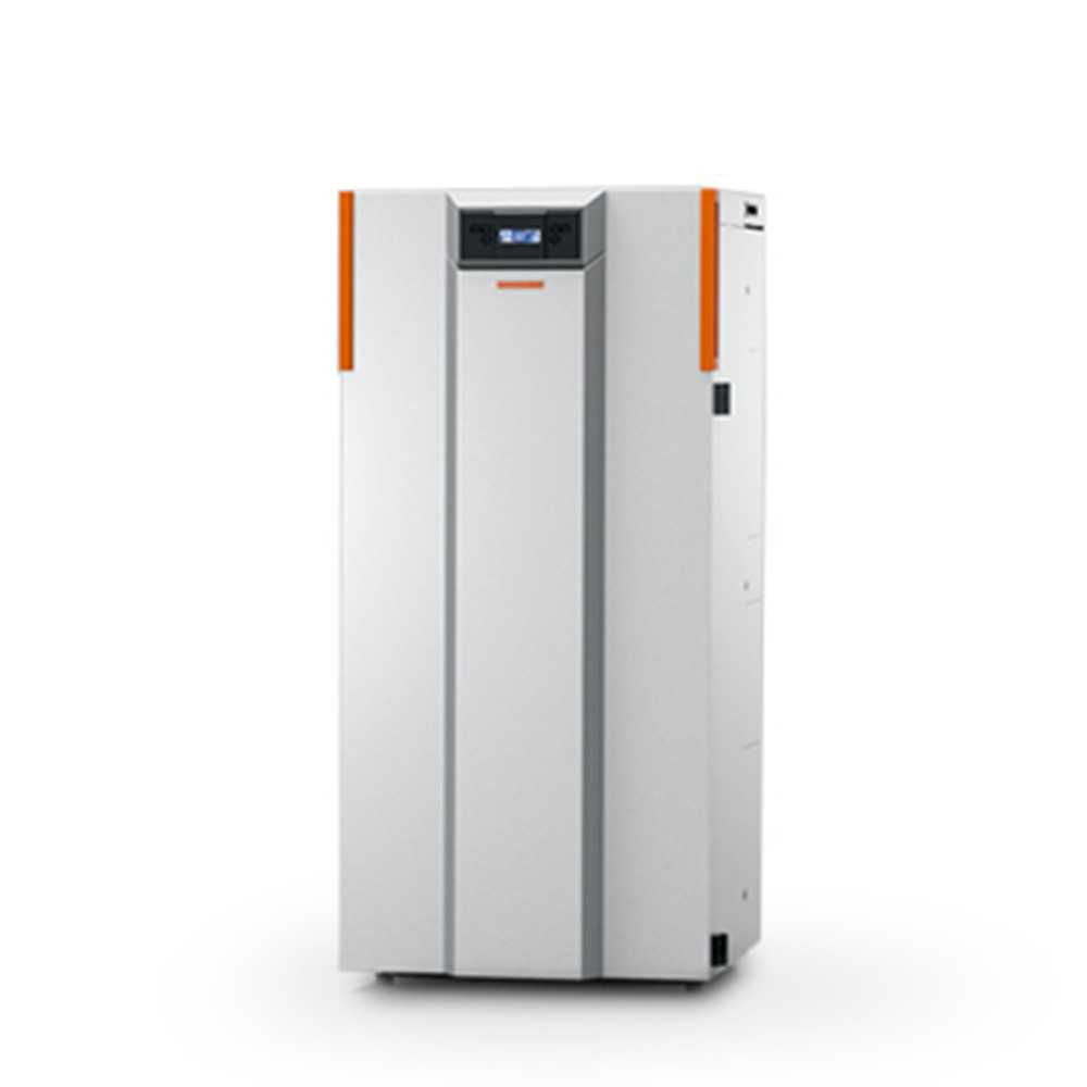Caldaia a pellet Thermorossi Compact S18 class 5 silver 17,10 kW
