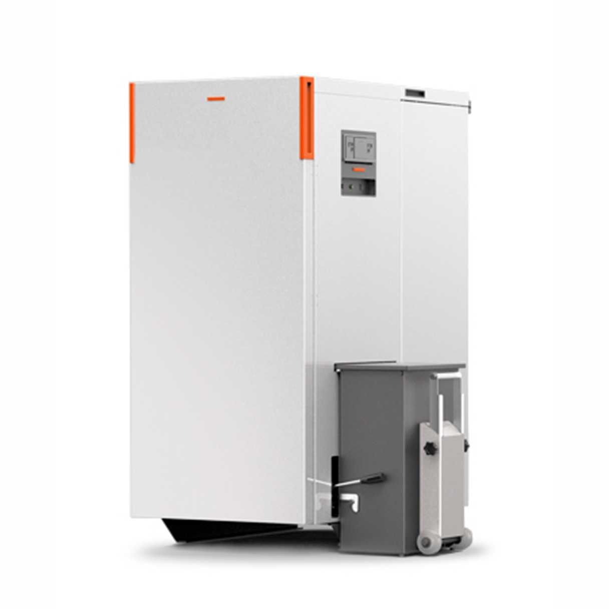 Caldaia a pellet Thermorossi Compact Matic S50 class5 silver 48,50 kW