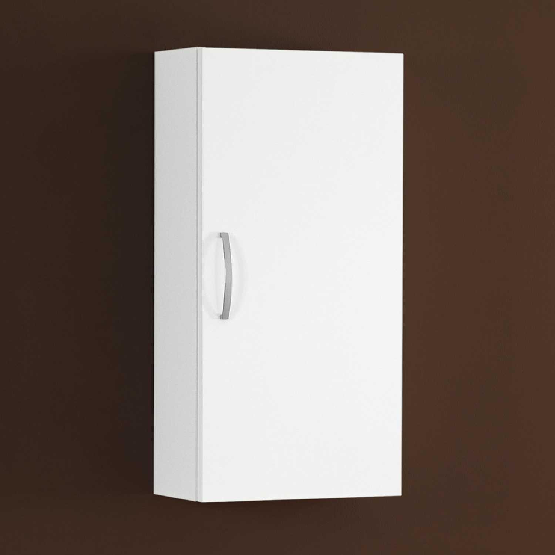 Pensile bagno sx/dx 35x71x20 cm laccato lucido bianco