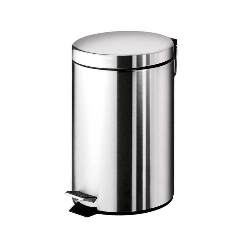Portarifiuti Gedy Argenta 5 lt. in acciaio inox 20,5x26,5x27,8 cm