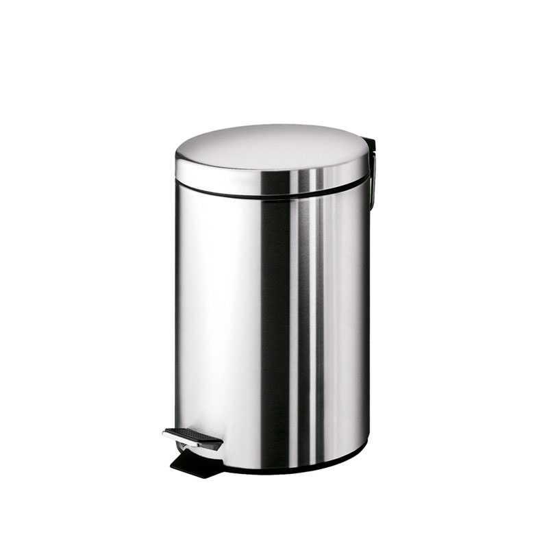 Portarifiuti Gedy Argenta 3 lt. in acciaio inox 17x22,5x26 cm