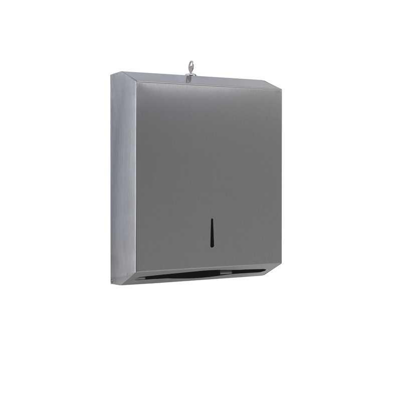 Distributore salviette di carta Gedy con serratura di sicurezza cm 26,2x9x33 cm