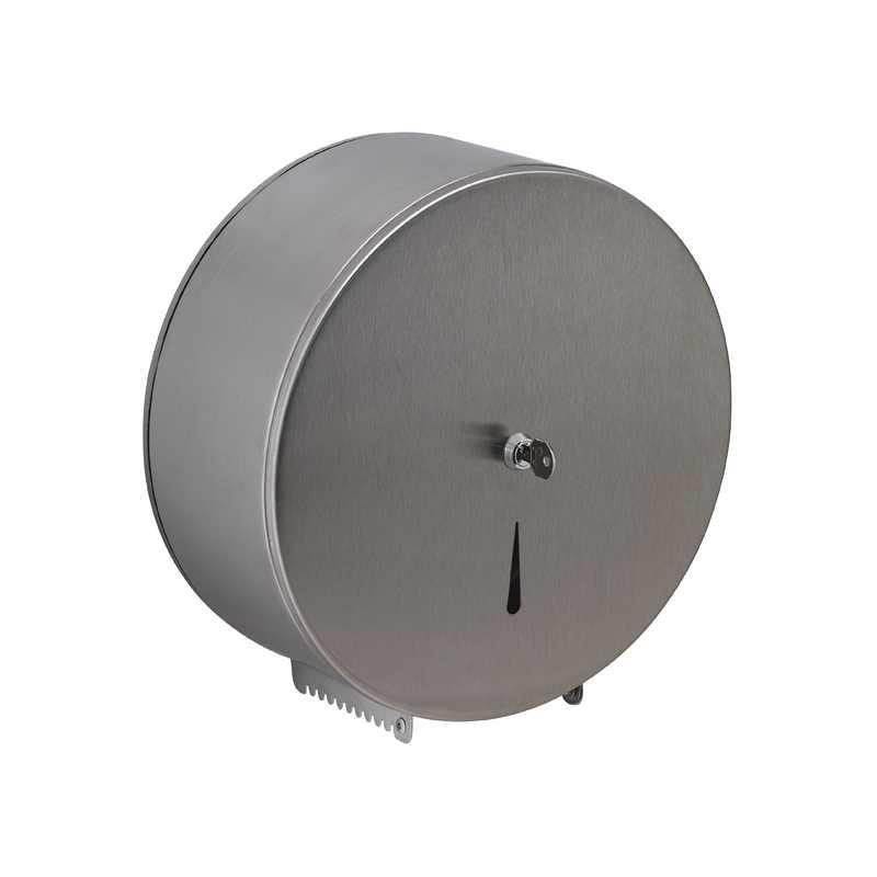 Distributore per rotoli carta igienica firmato Gedy con serratura di sicurezza