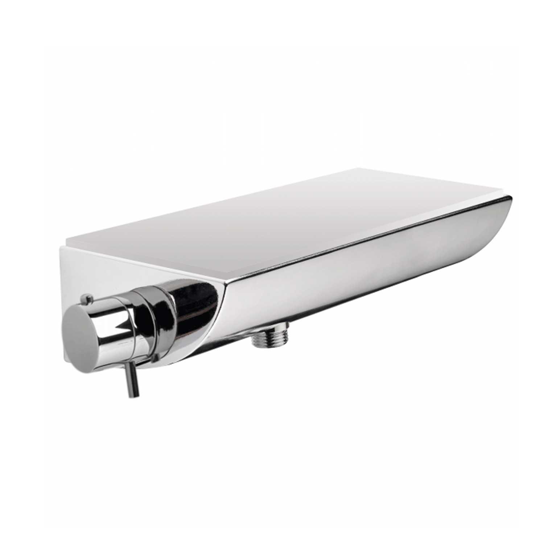 Miscelatore termostatico esterno doccia/ vasca di  Bossini con mensola portaoggetti