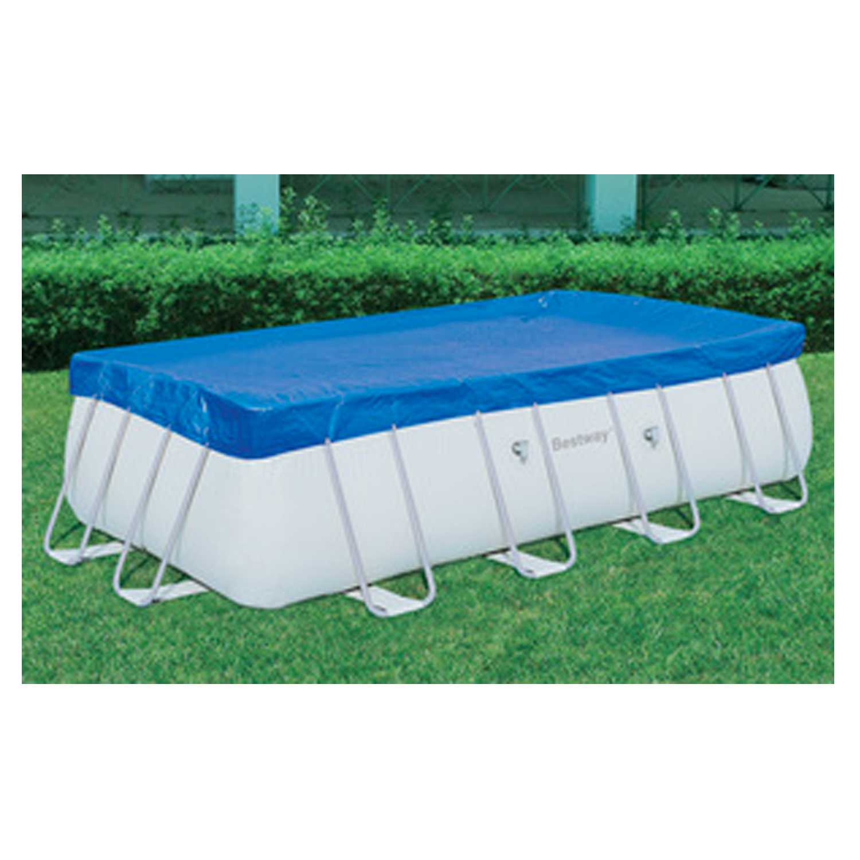Top di copertura 396x185 cm ideale per alcune piscine rettangolari