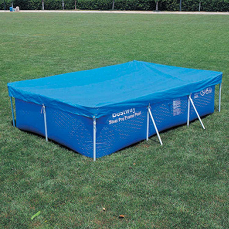 Top di copertura compatibile per piscine 259x170 cm