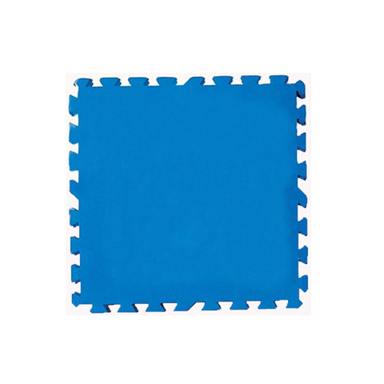 Tappetto sottopiscina in polietilene azzurro 50x50 cm