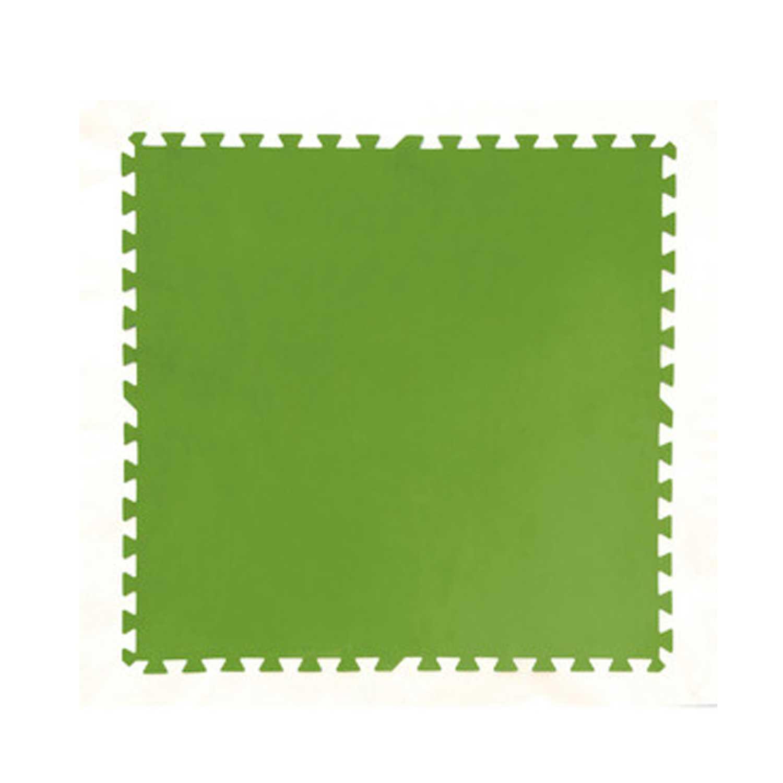 Tappetto sottopiscina in polietilene verde 81x81 cm