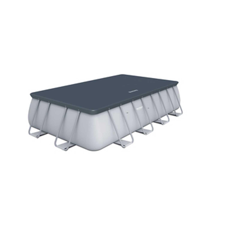 Top di copertura compatibile per piscine 282x196 cm