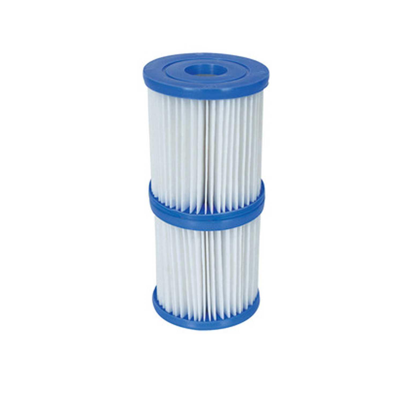 Filtri di ricambio per pompe filtranti con capacità di 2 e 3 litri per ora
