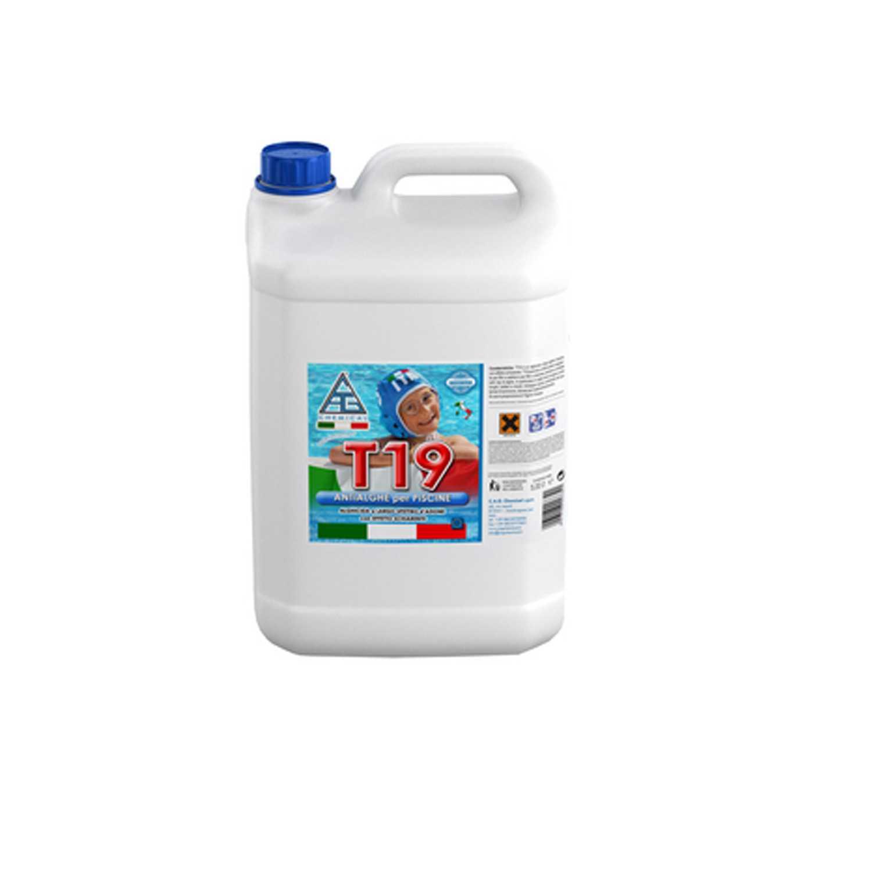 Antialghe T19 antibatterico pronto all'uso confezione da 5 litri