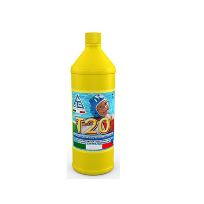 Antialghe profumato T20 antibatterico pronto all'uso confezione da 1 litro