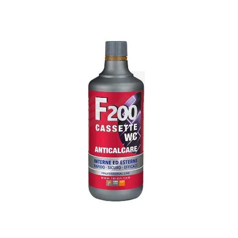 Trattamento anticalcare F200 ideale per cassette wc