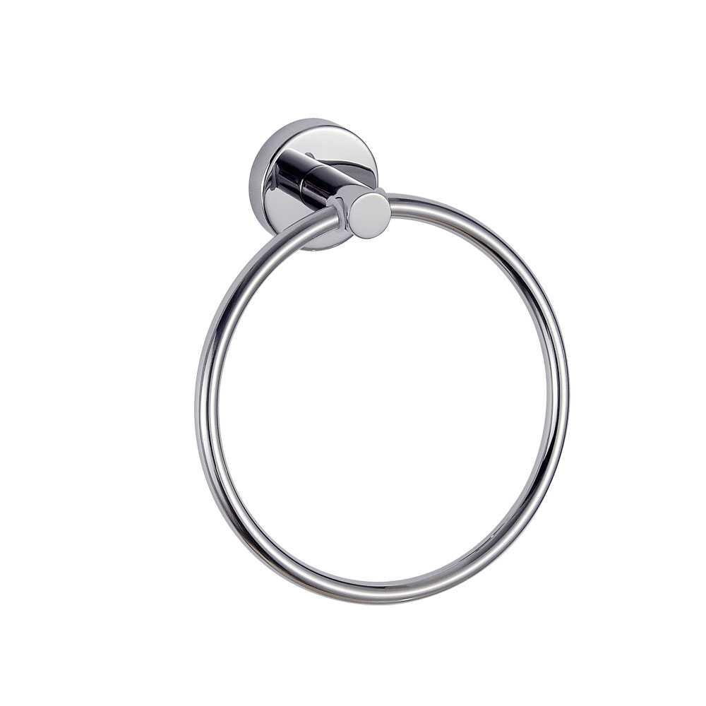 Portasalviette ad anello a parete Gedy Project in acciaio inox AISI 304 cromo lucido