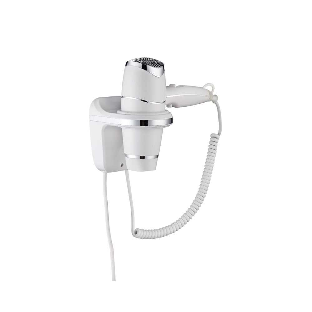 Asciugacapelli Gedy Maestrale con supporto a parete 1800 W ABS bianco