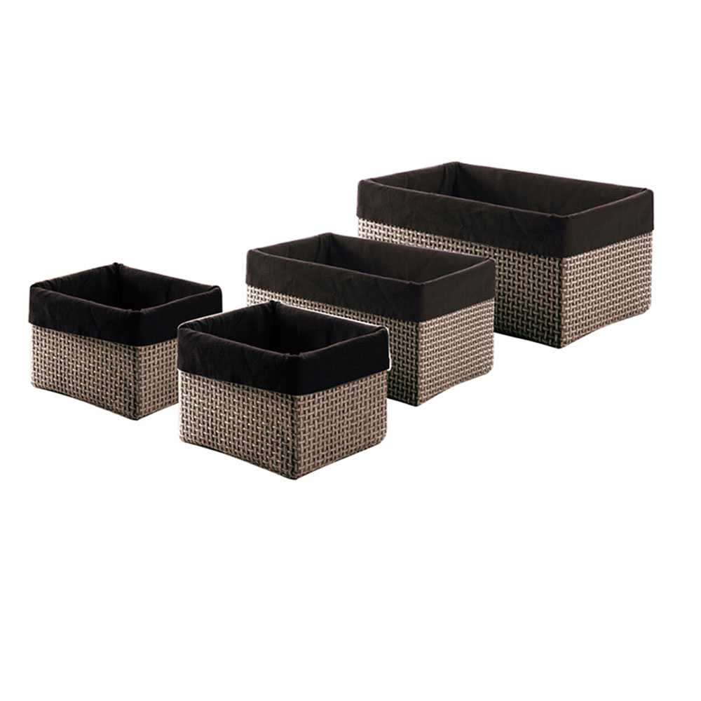 Set Gedy Lavanda con n° 4 scatole moka misure assortite