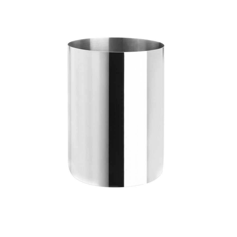 Gettacarta 6,6 lt Gedy Vesta acciaio inox cromo lucido diametro 18,8 cm