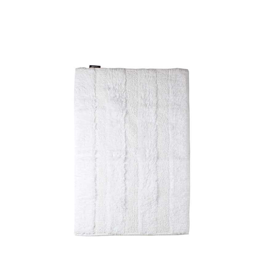 Tappeto bagno 50x70 cm Koh-I-Noor Reverso Plus cotone pettinato bianco