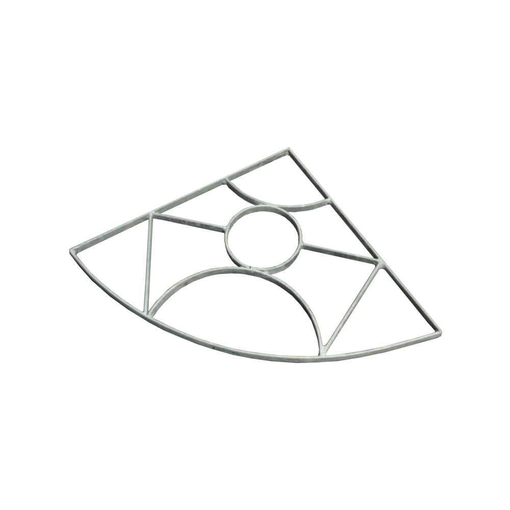 Griglia acciaio zincato per lavello angolare Bonfante Monte Rosa