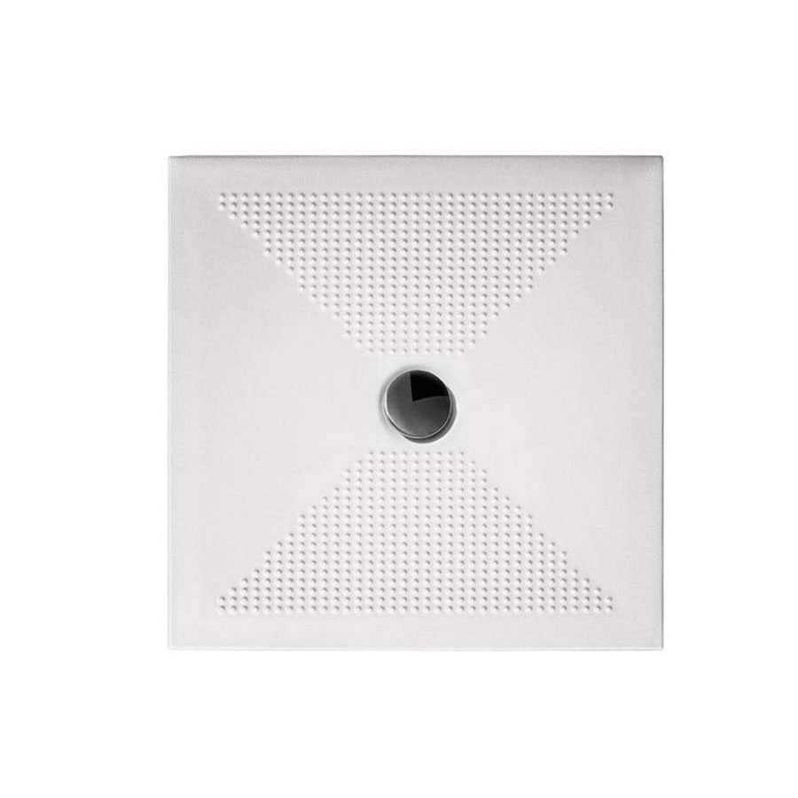 Piatto doccia quadrato cm 80x80 Althea smalto brillante e colore inalterabile spessore cm 3
