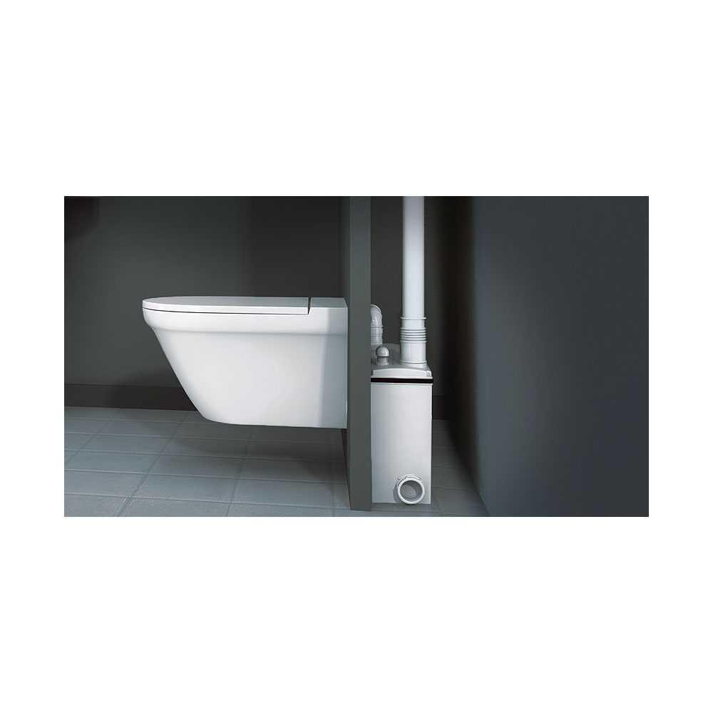 Trituratore adattabile per wc sospesi Watermatic W16P potenza 500 W
