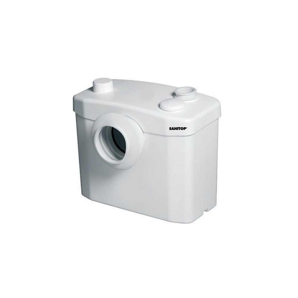 Cassetta trituratrice Sanitop per wc tradizionali con scarico a parete