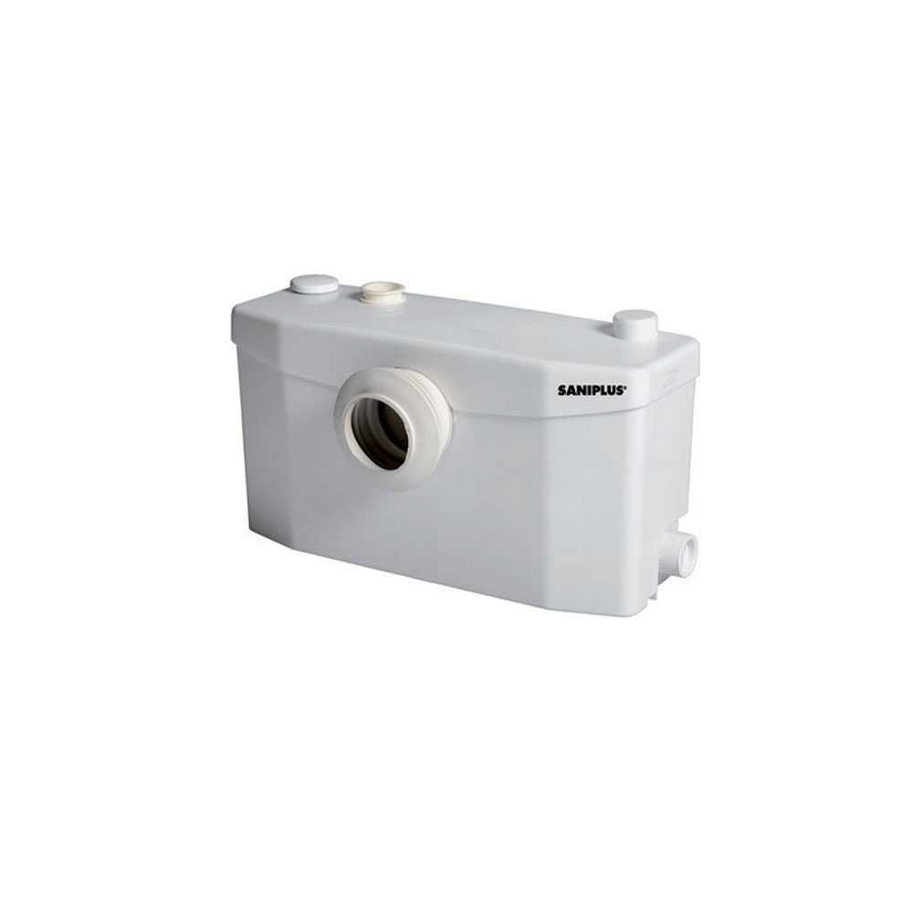 Cassetta trituratrice Saniplus per grandi volumi di acqua di scarico