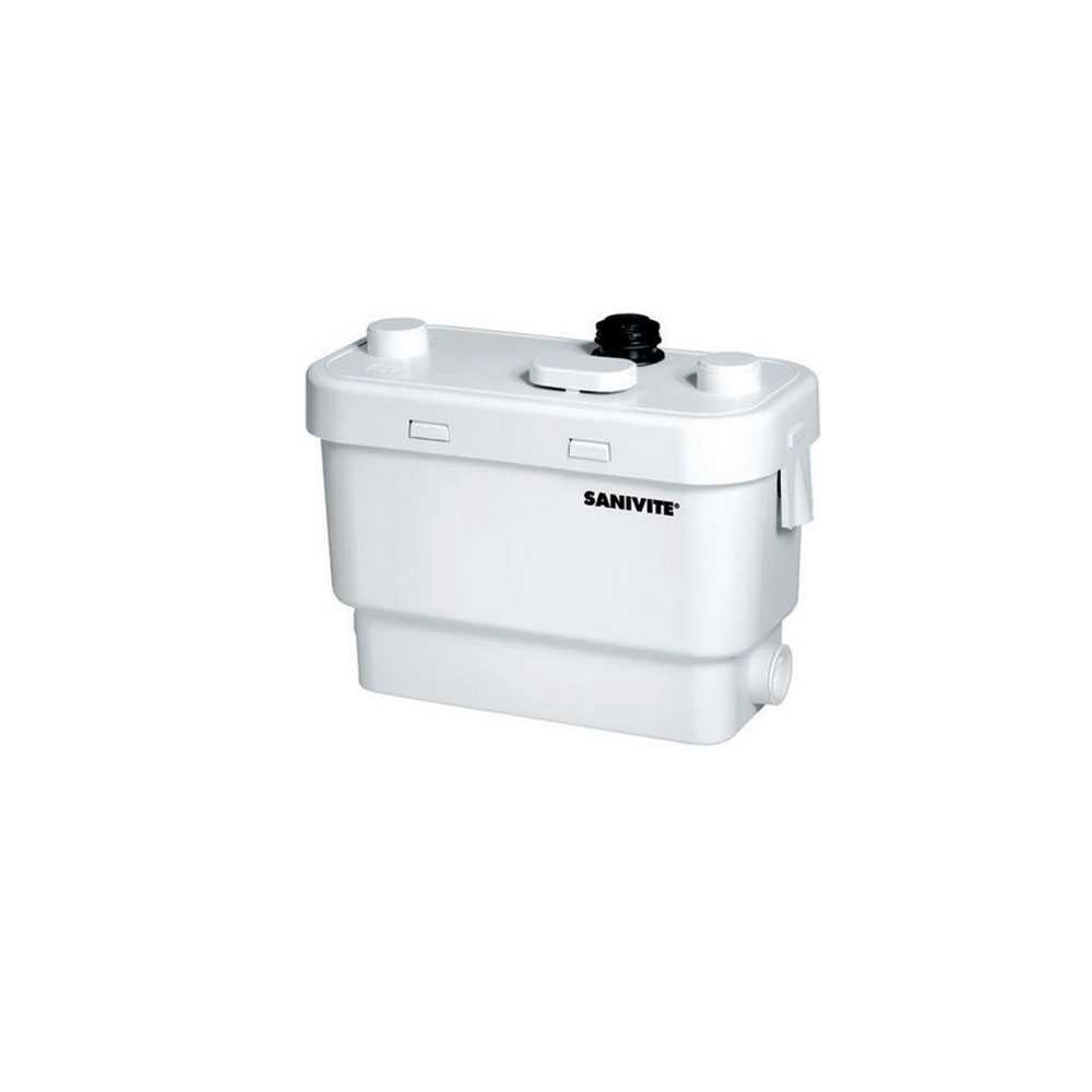 Pompa per acque chiare Sanivite, evacua con soli 400 W di consumo