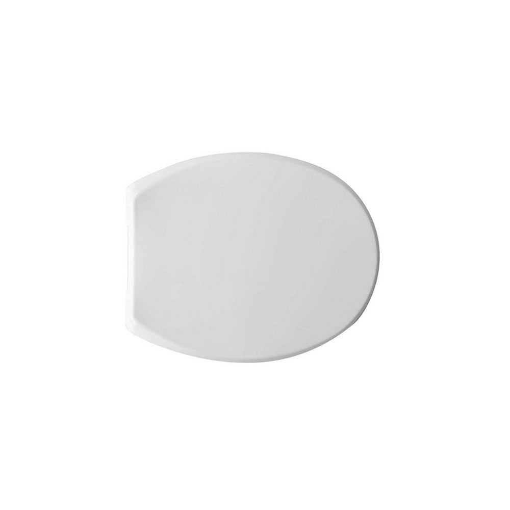 Sedile wc universale Ischia termoplastico in resina infrangibile con cerniera Uniblock