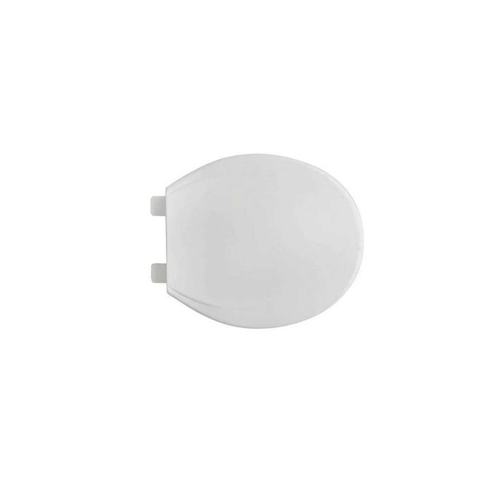 Sedile wc universale bianco soft closing Vesuvio in resine termoplastiche