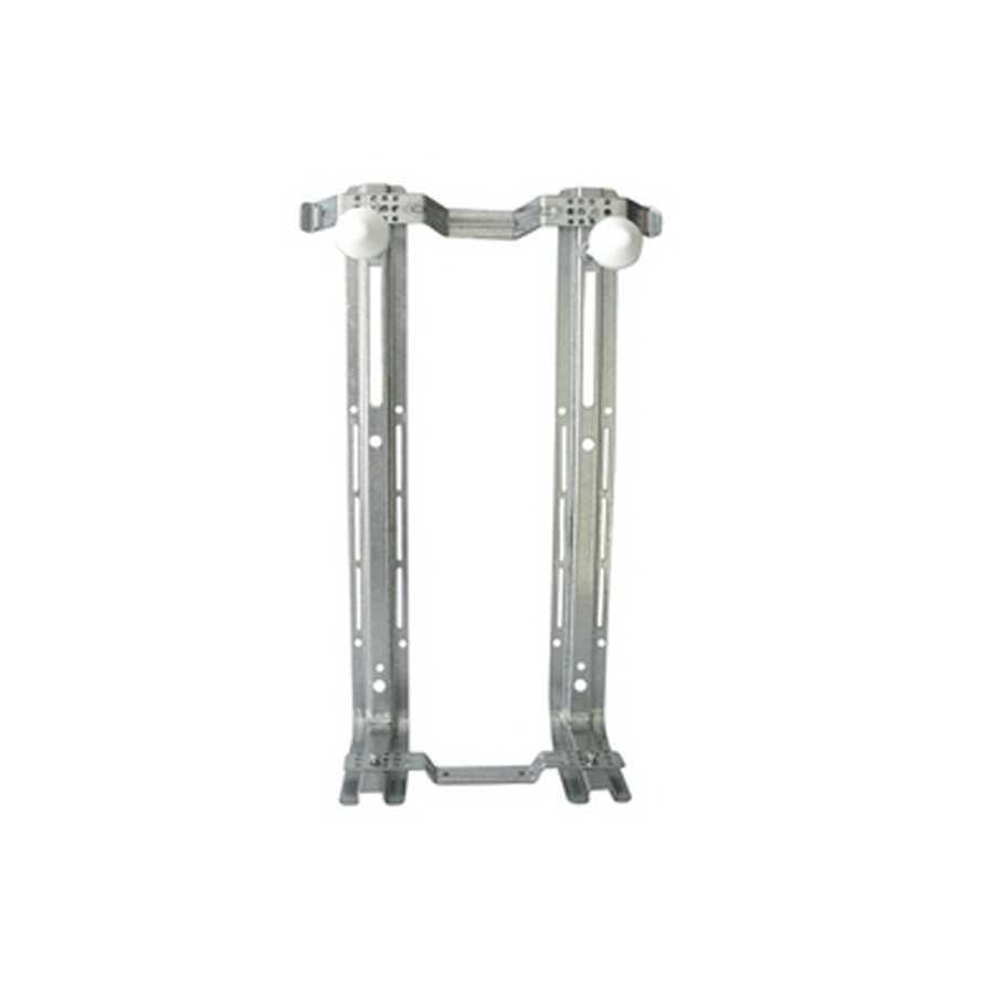 Staffa di fissaggio componibile  per vasi sospesi e bidet sospesi interasse 160-230 mm