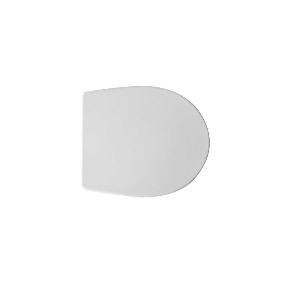 Sedile wc universale D057 termoindurente bianco con cerniere regolabili