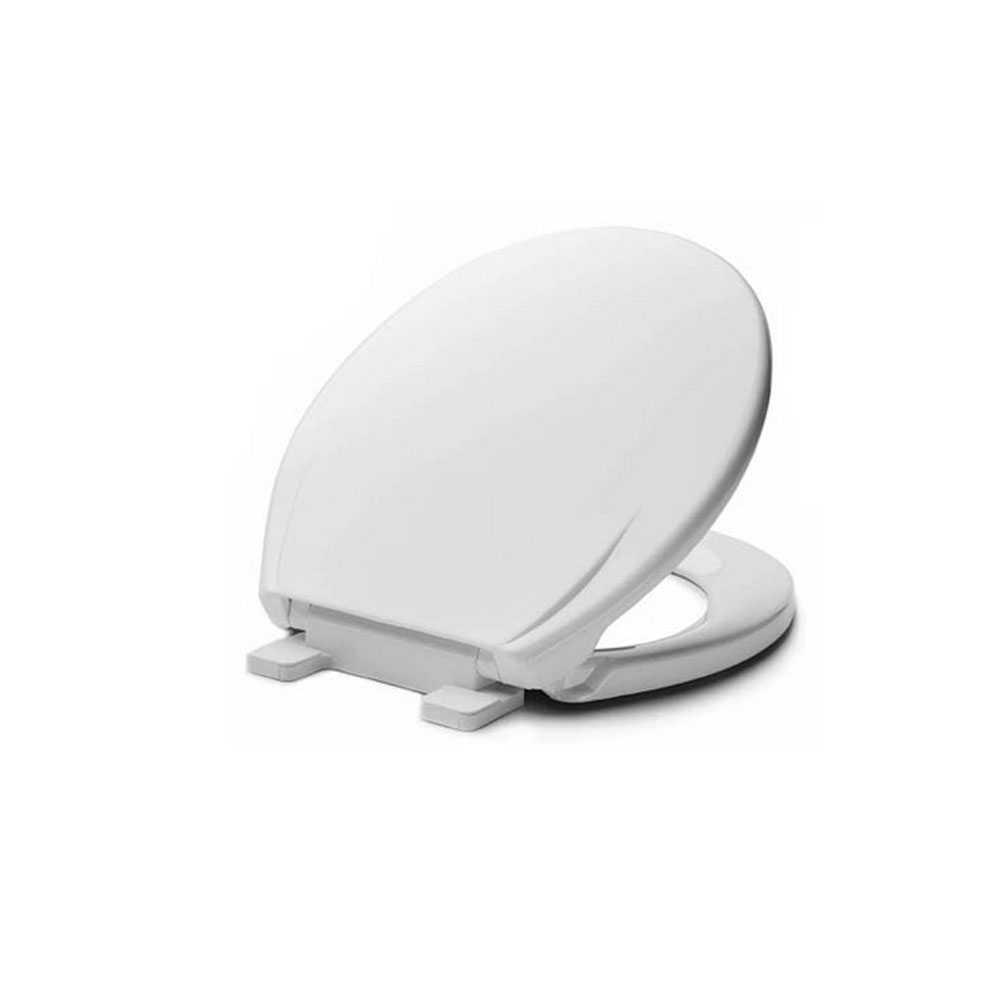 Sedile wc universale airbag di Metaform con caduta frizionata cerniere in ABS