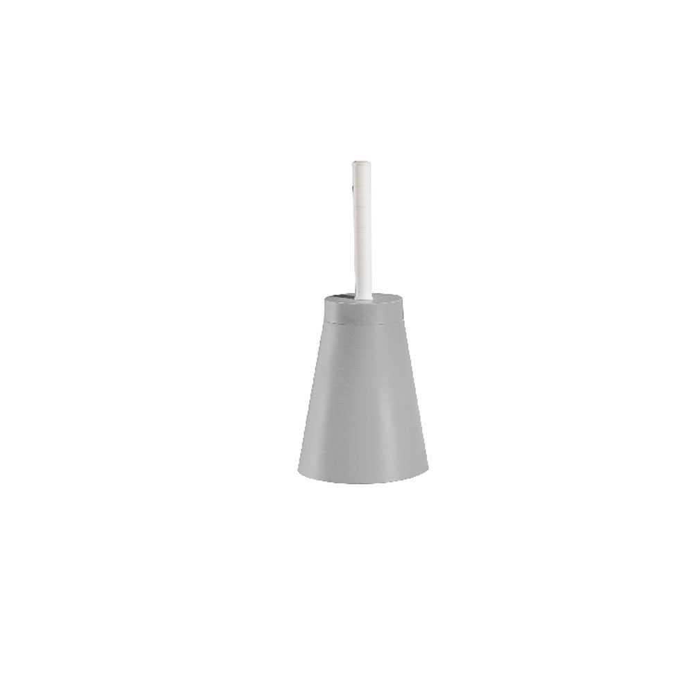 Portascopino in pvc bianco 16x38,5 cm modello Conic