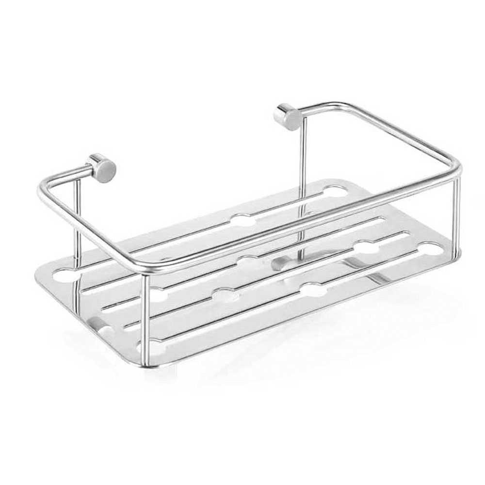 Cestello doccia Metaform acciaio inox 18 10 finitura cromata  lucida, altezza 7 cm