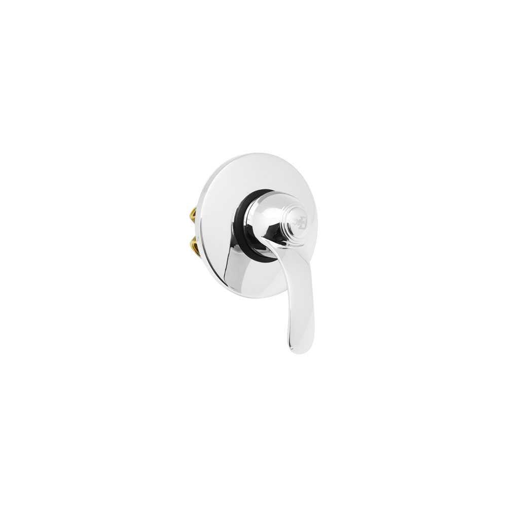 Monocomando incasso doccia ottone cromo serie Class con cartuccia diam. 40