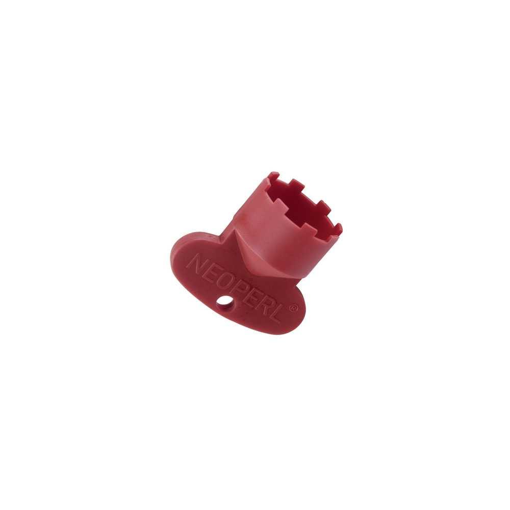 Chiave cache' rossa JR con Slim Air M 21.5 x 1 di Neoperl
