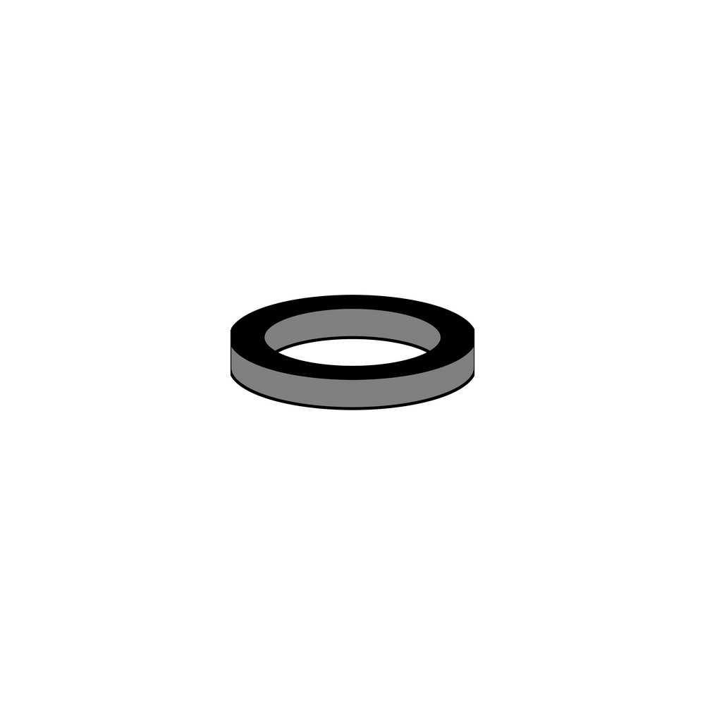 Dieci guarnizioni in gomma Neoperl per cartuccia interna M22 16x20,8x1,5 mm