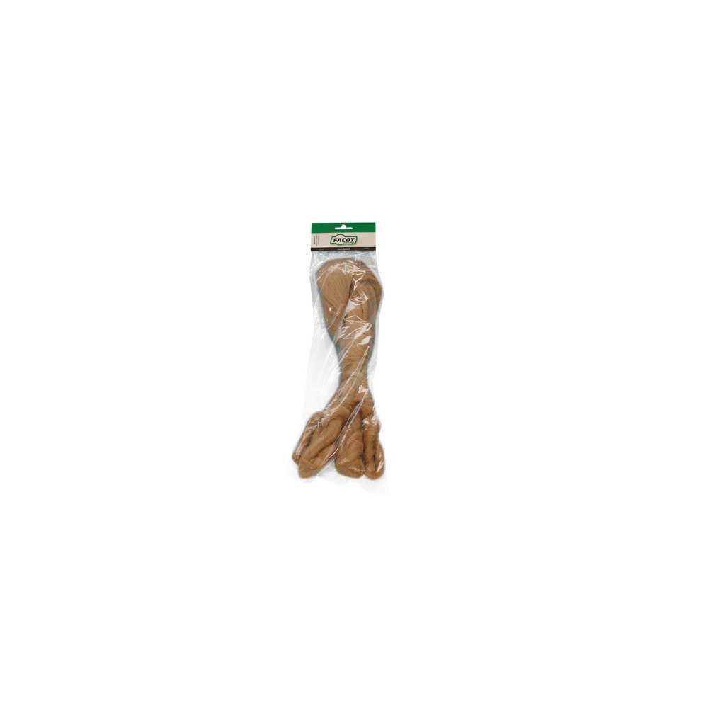 Pettinato meccanico di lino di prima qualità per raccordi idraulici busta da 250 g