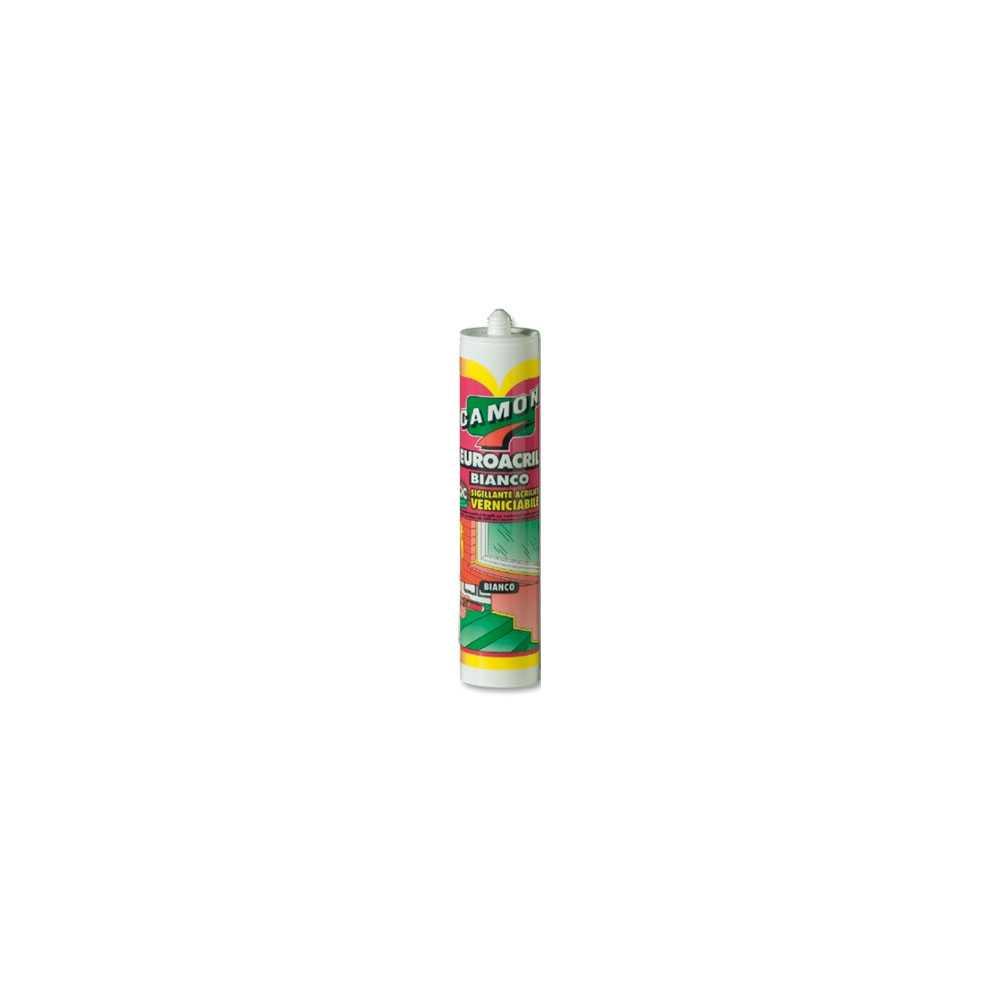 Sigillante acrilico Euroacril verniciabile 310 ml per sigillature tra infissi e muratura