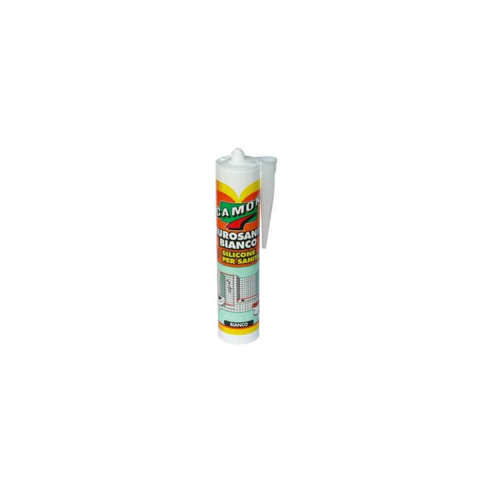 Silicone acetico trasparente antimuffa 280 ml